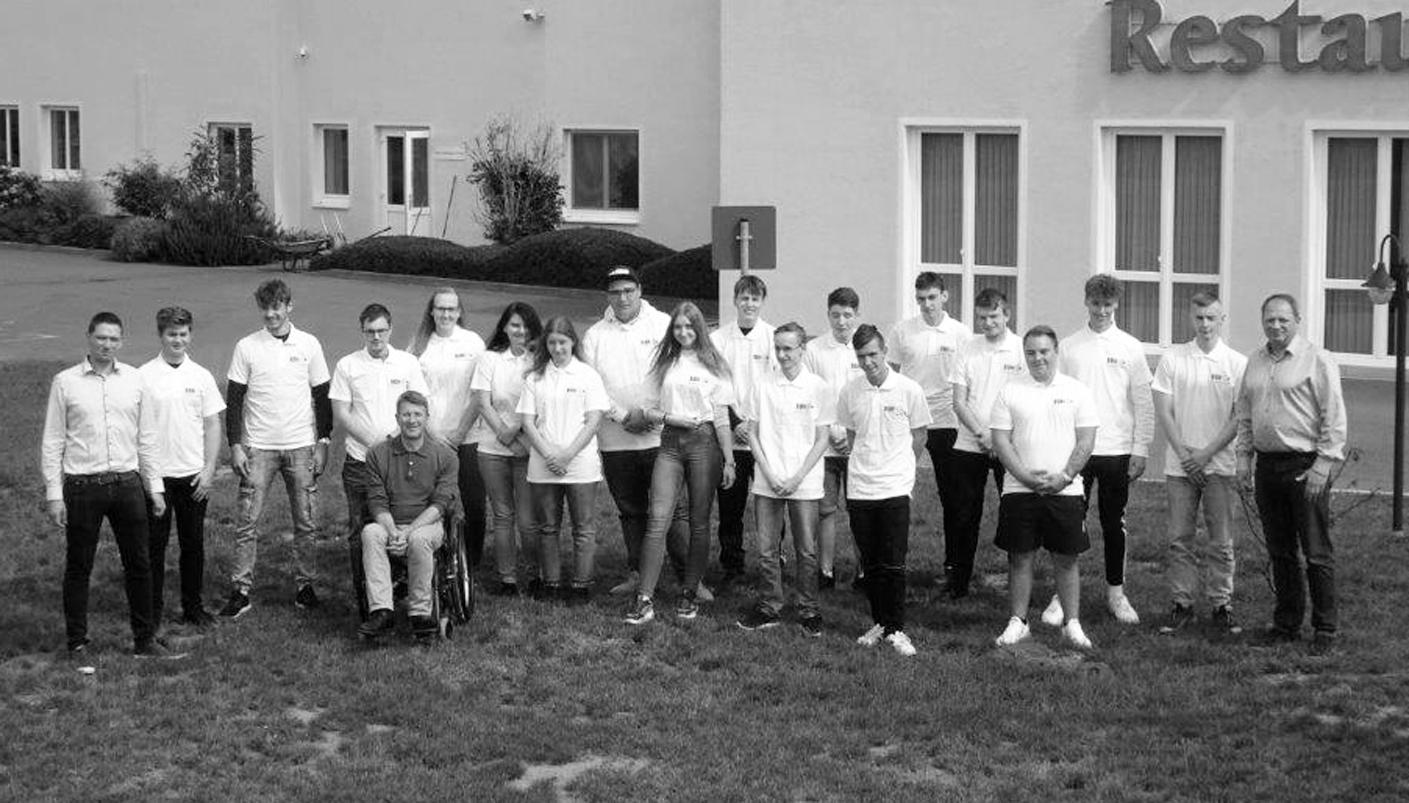 Die BBH begrüßt ihre Auszubildenden 2019 bei der Auftaktveranstaltung in Derenburg